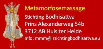 Metamorfosemassage Stichting Bodhisattva