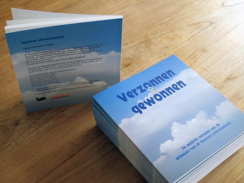 Baarnse Literatuurprijs verhalenbundel